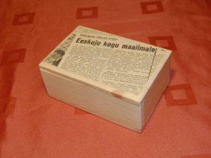 retro võikarp ajaleht 400x300
